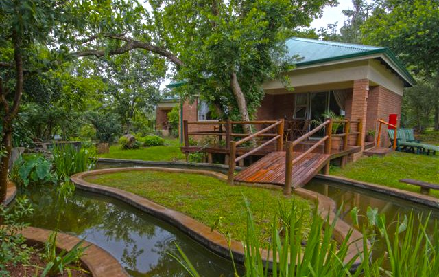 Self catering chalets at Parnassus Farm