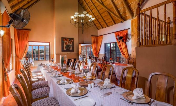 Easter lunch at Mokoya Lodge