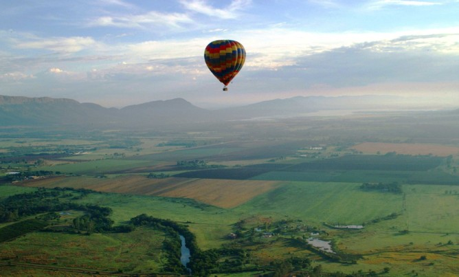 Up, up and away in the Magaliesberg!