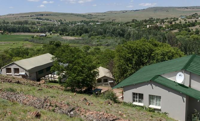 New chalets at Magalies River Lodge!
