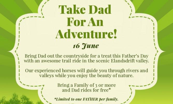 Put some adventure into Dad's life!