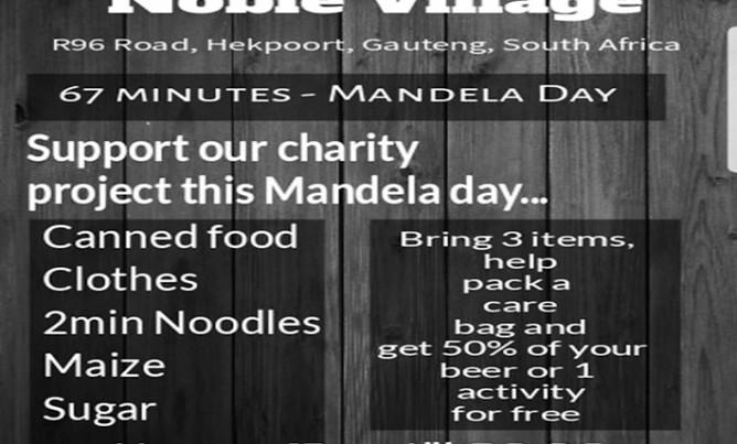Mandela Day – 18 July