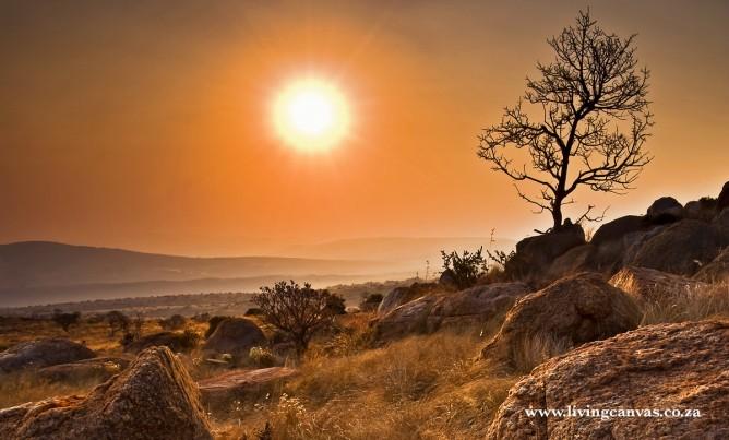 Sunset in the Magaliesberg