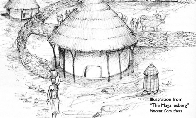THE ANCESTORS OF THE TSWANA: FARMERS BUILDING STONE-WALLED VILLAGES
