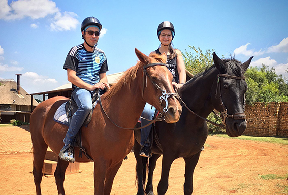 Horse Riding venues in the Magalies Meander