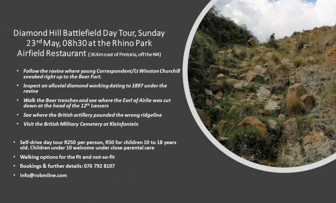 Diamond Hill/Donkerhoek Battlefield Day Tour
